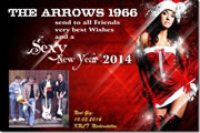 The Arrows 1966 - Best wishes and a sexy new Year