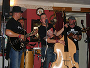 Rockabilly-Country mit Red fat Cat - Konzert im Gasthaus Löwen Bartenstein