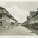 Ansichtskarte Schloß-Straße Bartenstein gegen 1920