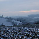 winterlicher Blick nach Bartenstein
