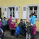 Kindergartenausflug, wetterfwest und gut gelaunt