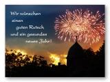 Wir wünschen einen guten Rutsch und ein gesundes neues Jahr
