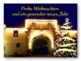 Riedbachtor zu Weihnachten