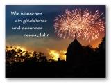 Wir wünschen ein glückliches und gesundes neues Jahr